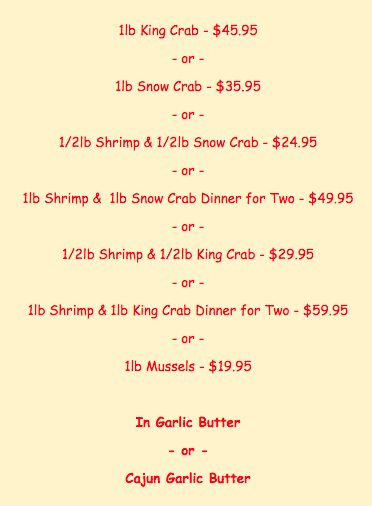 king crab house boil bag