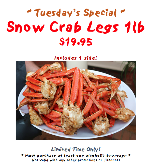king crab house chicago snow crab legs special