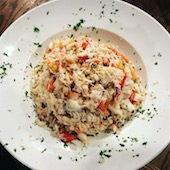 King crab chicago crab meat bowl