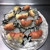 King crab chicago jumbo stone crab claws